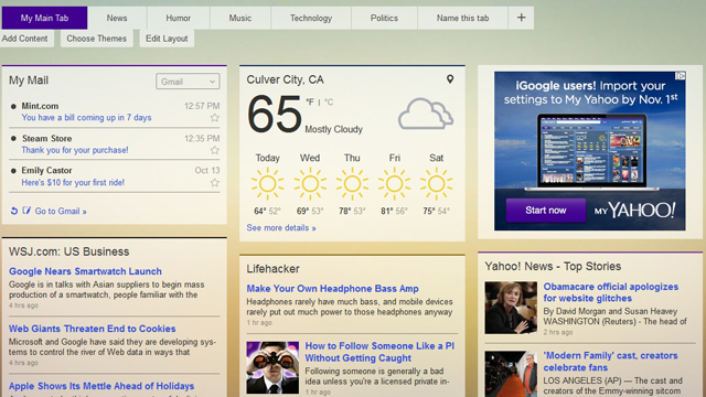 Five Excellent, Customisable Start Pages to Replace iGoogle