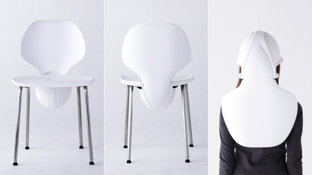 A Chair That Turns Into a Brain-Protecting Helmet During Earthquakes