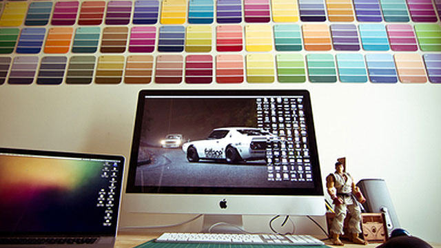 The Paint Chip Workspace