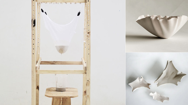 A Cool Contraption Generates Earthenware Using a Catenary Arch