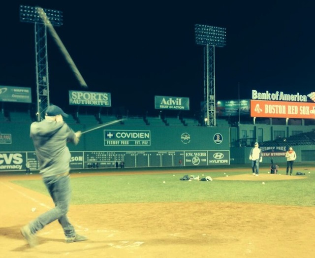 Ryan Dempster Was Throwing BP At Fenway At 3 A.M.