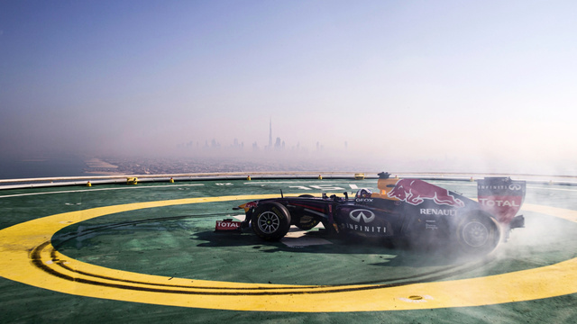 Your Ridiculously Awesome Red Bull F1 Donut Wallpaper Of The Day