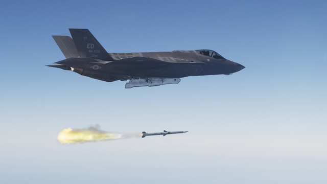 The F-35A Became a Full-Fledged Weapons System Yesterday