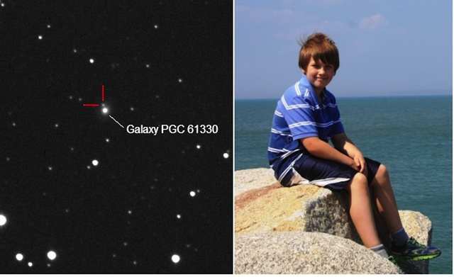 10-Year-Old Boy Discovers 600-Million-Year-Old Supernova