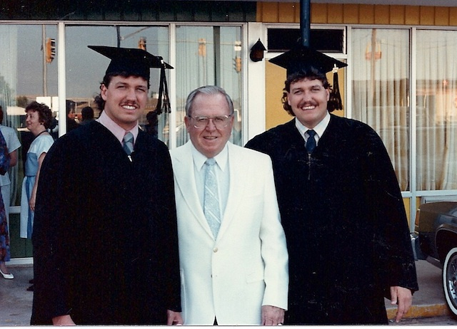 This Graduation Photo Of Rex And Rob Ryan Is Fantastic