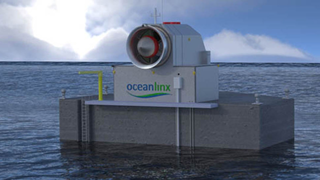 Floating Generator Transforms the Ocean's Motions into MegaWatts