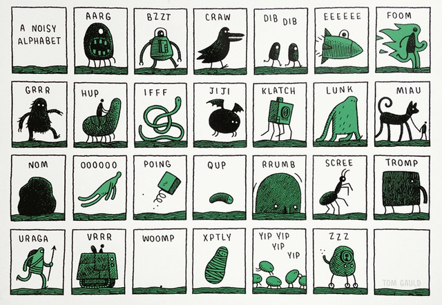 An Alphabet of Alien Sounds