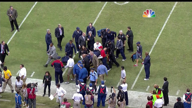 Texans Coach Gary Kubiak Collapses On Field During Game