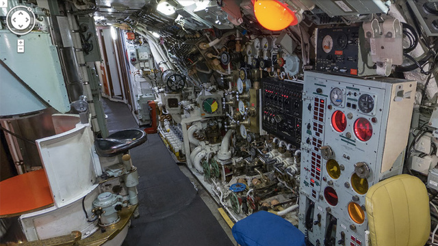 You Don't Have to Enlist to Tour a 50-Year-Old Sub on Street View