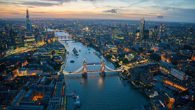 London is starting to look like a breathtaking city from the future