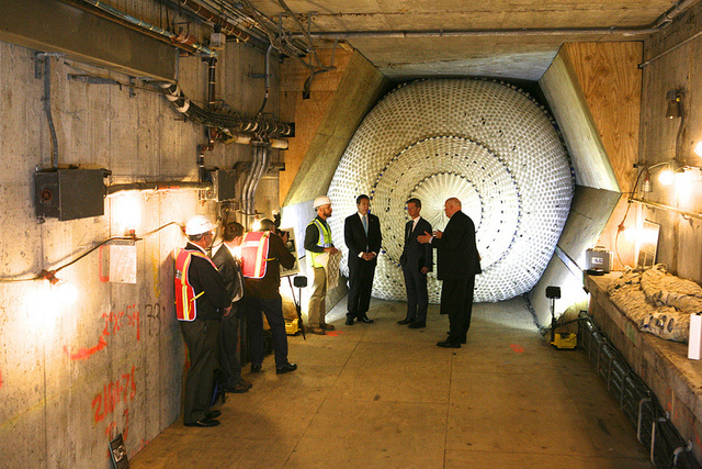 NYC's First Inflatable Tunnel Plug Will Stop Floods, Smoke, and Gas