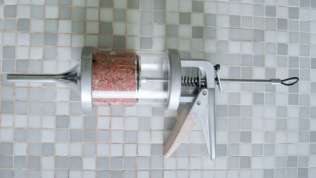 This Sausage Gun Fires Mouthwatering Ammo