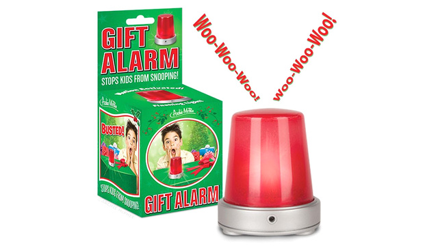 Motion-Activated Alarm Keeps Wrapped Gifts a Secret