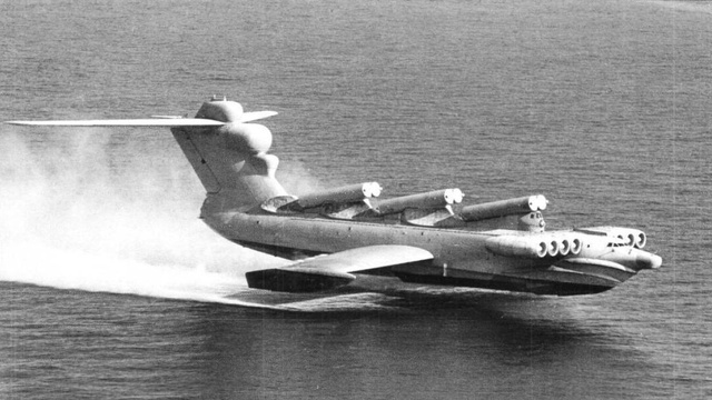 "This ""Caspian Sea Monster"" Was a Giant Soviet Spruce Goose"