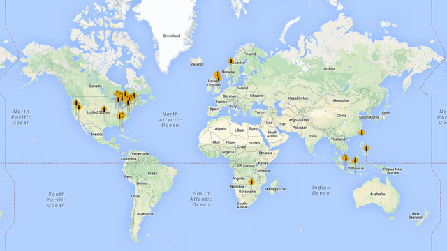 This Map Shows Where People Are Dropping the F-Bomb Right Now