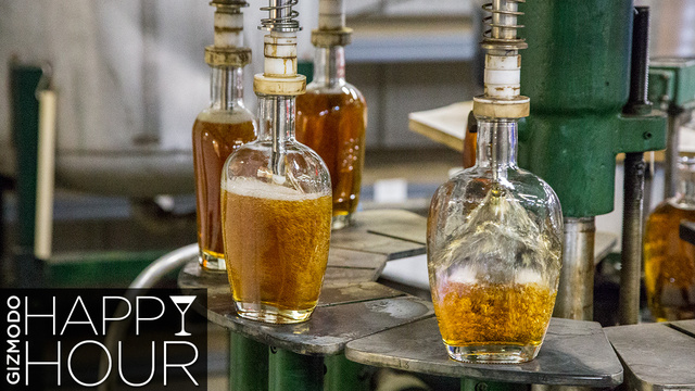 How Bourbon Gets Its Beautiful Flavor