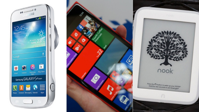 Now Available: Galaxy S4 Zoom, Lumia 1520, Nook GlowLight, More
