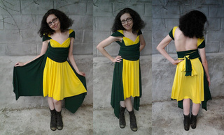 Superhero-inspired dresses for more formal cosplay wear