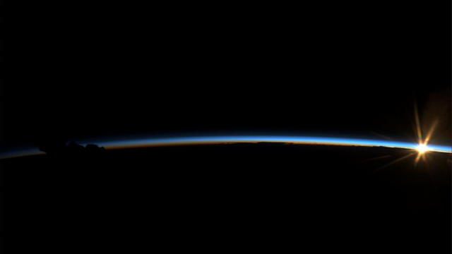 Even The Sunrise Is Out Of This World On the ISS