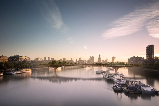 Should London Build a Forest Bridge Across the Thames?