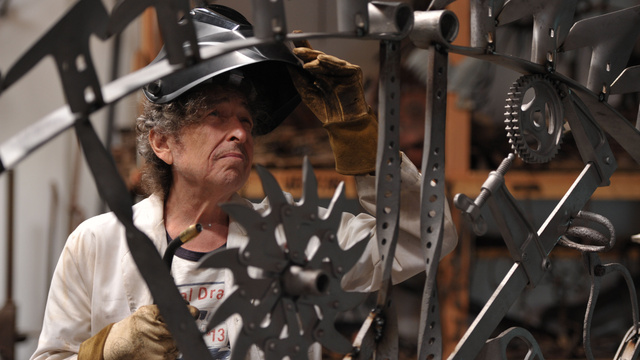 Hey, Did You Know Bob Dylan Is A Steampunk Metalworker?