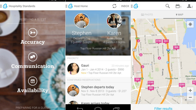 AirBnB's Redesigned App Makes On-The-Go Hosting Simple And Social