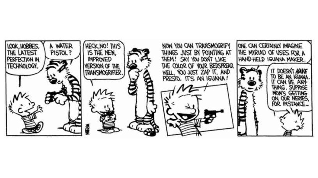 You Can Now Get Calvin and Hobbes as E-Books