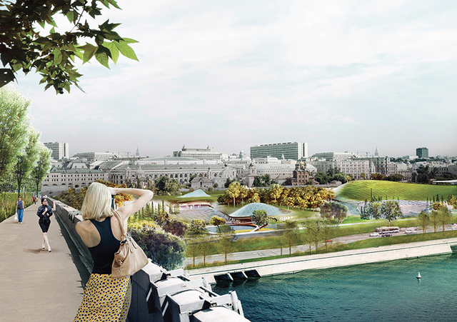 Moscow Unveils a Scheme to Build Its First New Park In 50 Years