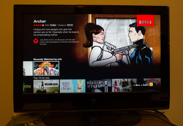 my ps4 netflix how download to to