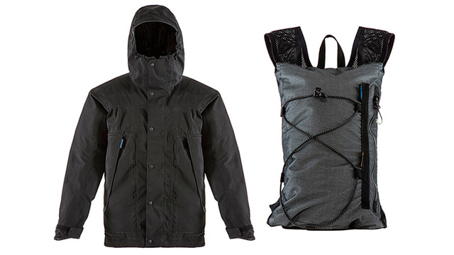 When the Storm Clears Up This Raincoat Transforms Into a Backpack