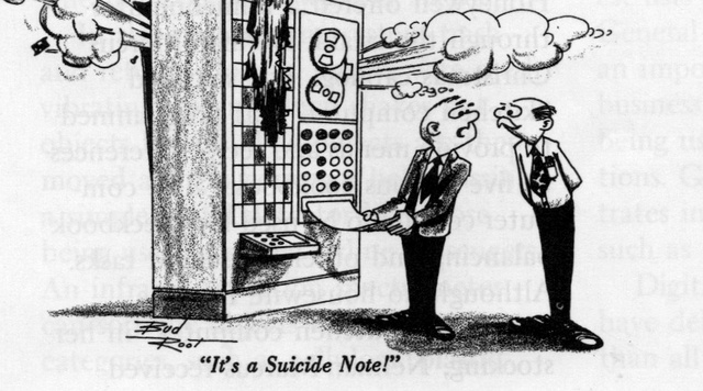 This Comic Predicted the First Robot Suicide Over 40 Years Ago