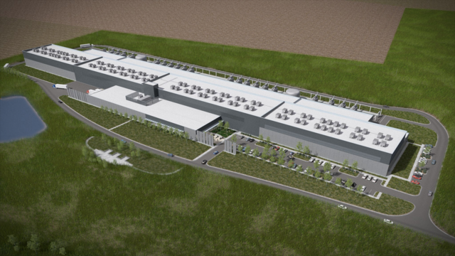 Facebook's Giant New Data Center Will Be Powered By Wind Alone