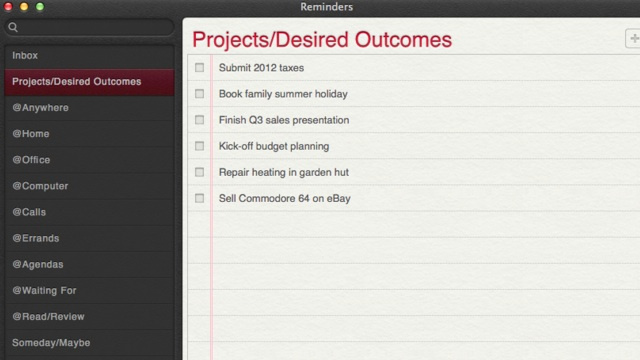 Turn Apple's Reminders Into a Quality GTD App
