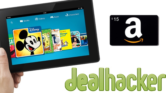 Grab a Free Gift Card with a Kindle, Turkey Gear, Hybrid Drive [Deals]