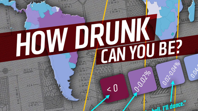 This Map Will Show You Drunk