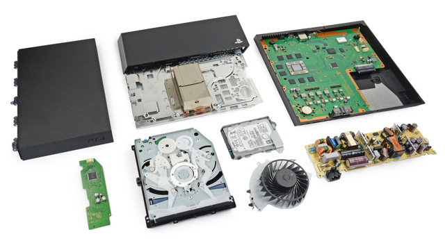 PS4 Teardown: Beautiful Outside, Tidy Inside