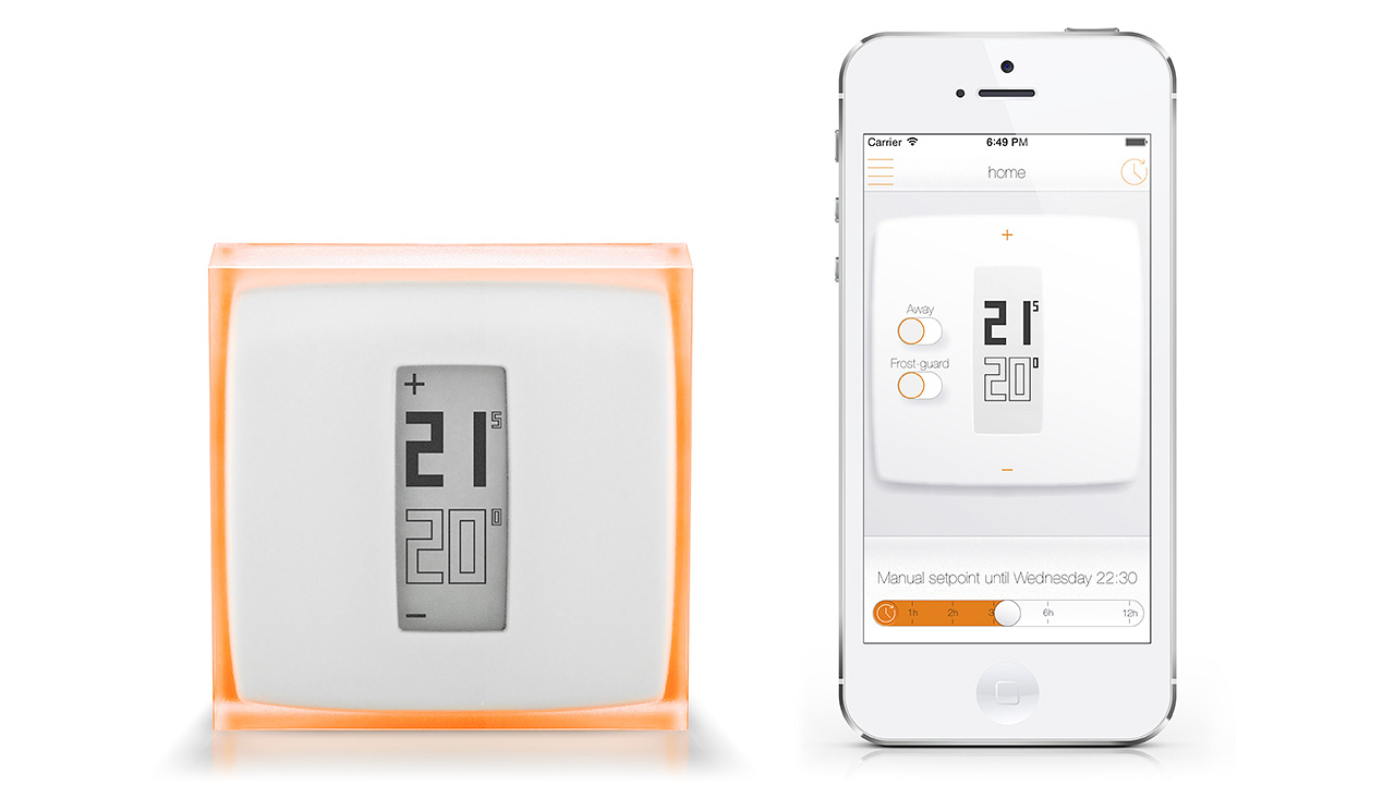 A Sleek Wireless Thermostat You Might Actually Want To Frame