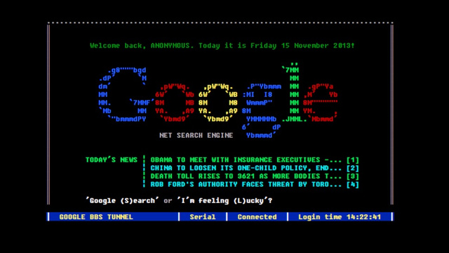 travel back to the nonexistent past with a functional google bbs google functioning about a unified messaging platform 640x360