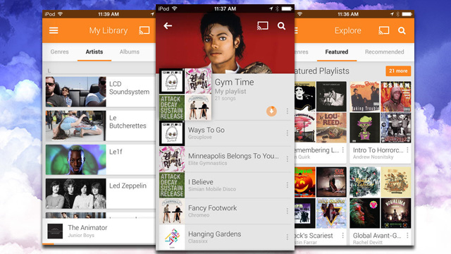 Google Play Music Lands on iOS