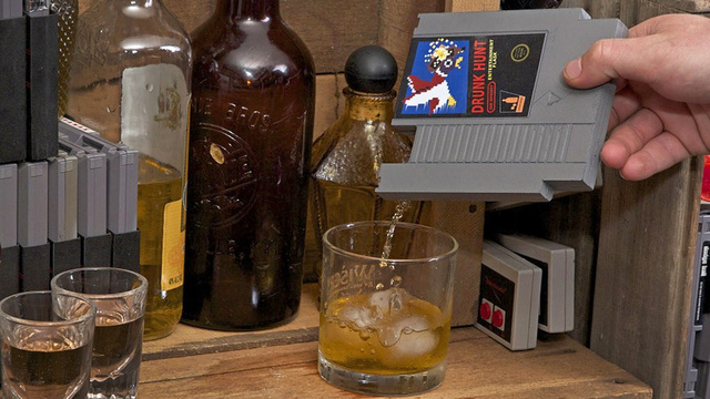 NES Cartridge Flasks Make