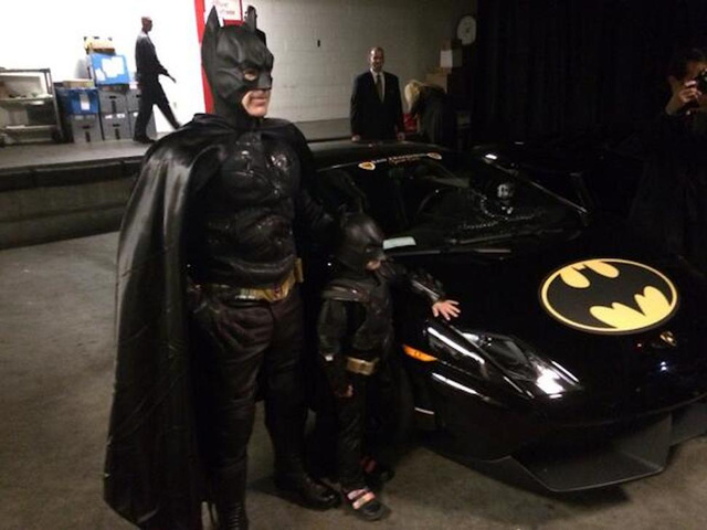 Make-A-Wish BatKid Is Saving