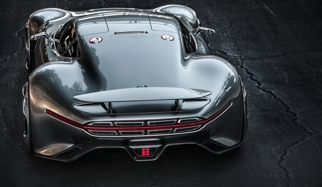 The Mercedes AMG Vision Gran Turismo Is The Supercar Of Gran Turismo 6