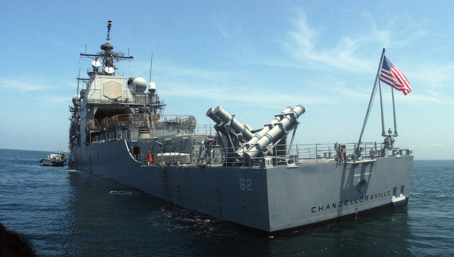 A Drone Hit a Guided Missile Cruiser During a Weapons System Test