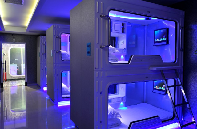 China's Space Capsule Hotel Has Robot Staff