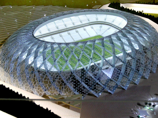 The Grim Secret Behind Qatar's Lavish New Stadiums