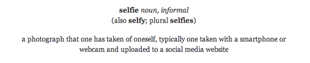 Selfie Is Officially the 2013 Word of the Year