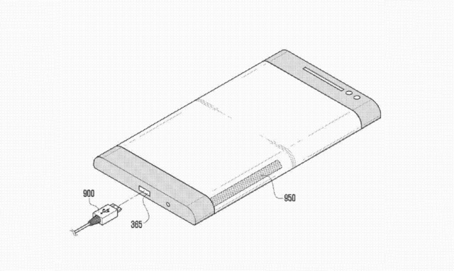 Patent Reveals How Samsung Would Use That Three-Sided Phone Screen