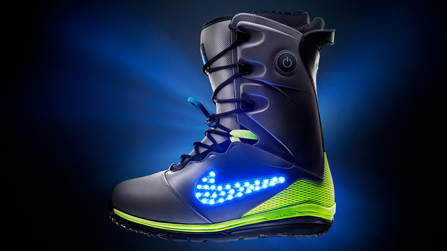 Nike's Latest Snowboarding Boot Fits Right In at the Tron Chalet