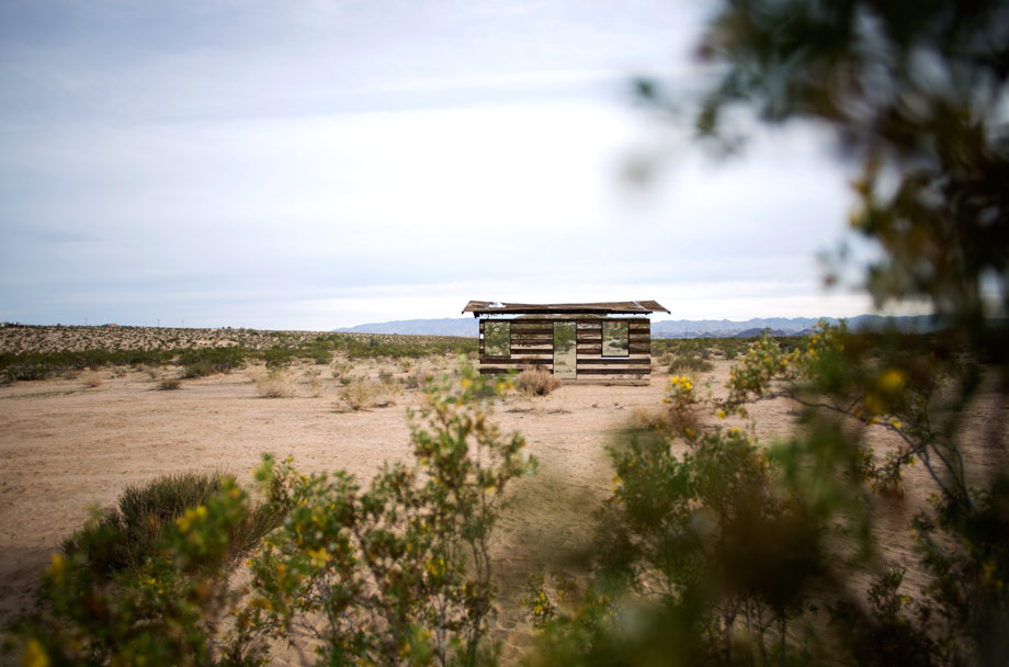 Can You Spot The 70-Year-Old Homesteader's Shack Hiding In The Desert?