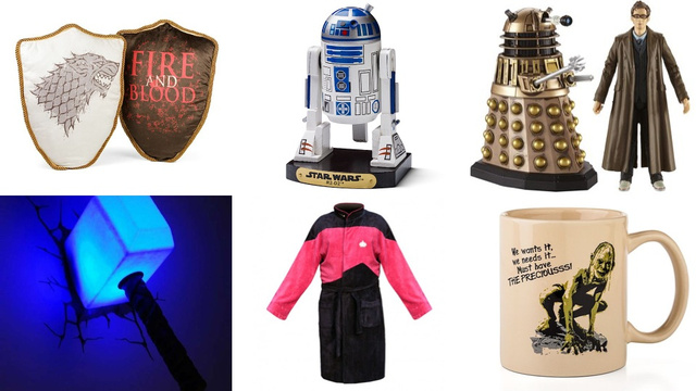 Gift Ideas for the 10 Major Species of Science Fiction Fan